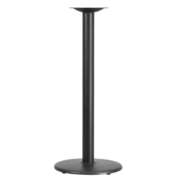 Wholesale 18'' Round Restaurant Table Base with 3'' Dia. Bar Height Column