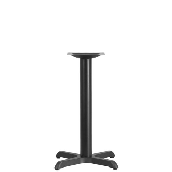 Wholesale 22'' x 22'' Restaurant Table X-Base with 3'' Dia. Table Height Column