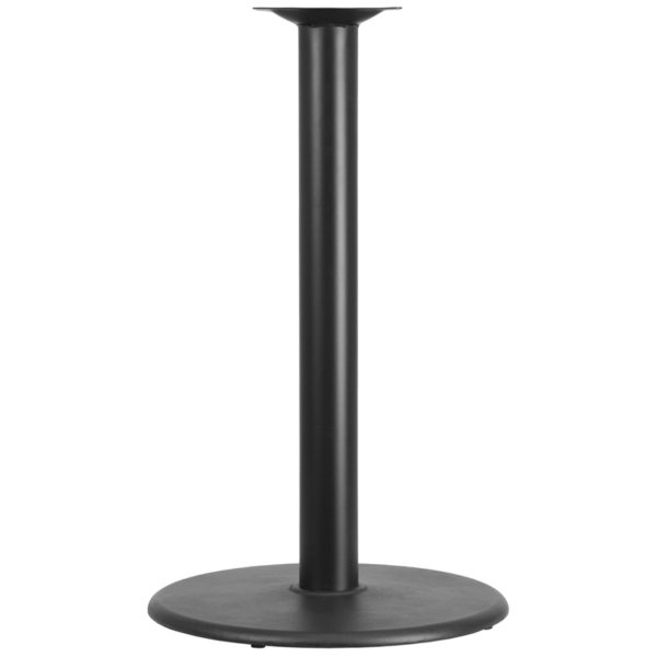 Wholesale 24'' Round Restaurant Table Base with 4'' Dia. Bar Height Column