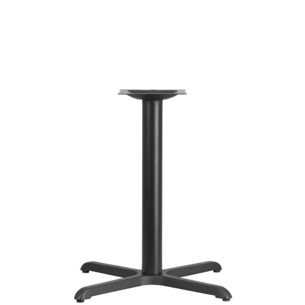 Wholesale 30'' x 30'' Restaurant Table X-Base with 3'' Dia. Table Height Column