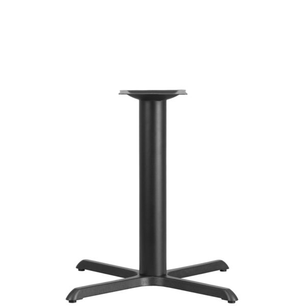 Wholesale 33'' x 33'' Restaurant Table X-Base with 4'' Dia. Table Height Column