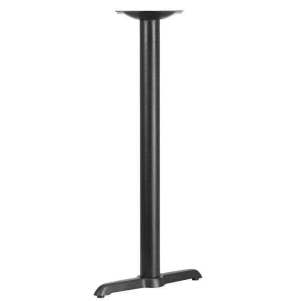 Wholesale 5'' x 22'' Restaurant Table T-Base with 3'' Dia. Bar Height Column