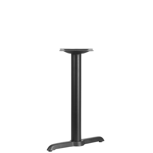 Wholesale 5'' x 22'' Restaurant Table T-Base with 3'' Dia. Table Height Column