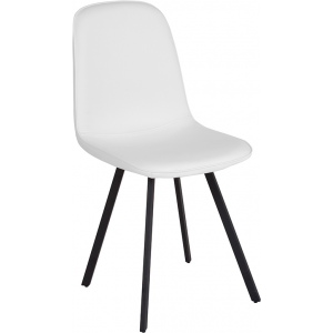 Wholesale Argos Contemporary Dining Chair in White Vinyl
