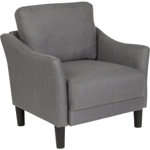 Wholesale Asti Upholstered Chair in Dark Gray Fabric