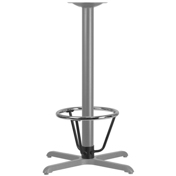 Lowest Price Bar Height Table Base Foot Ring with 3.25'' Column Ring - 16'' Diameter