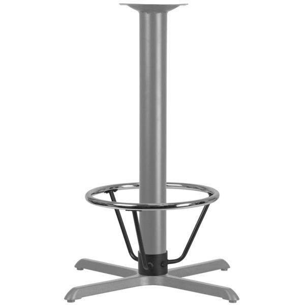 Lowest Price Bar Height Table Base Foot Ring with 4.25'' Column Ring - 19.5'' Diameter
