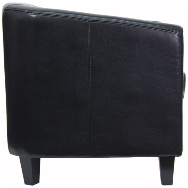 Lowest Price Black Leather Lounge Chair