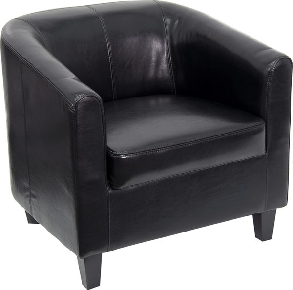 Wholesale Black Leather Lounge Chair
