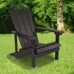 Wholesale Charlestown All-Weather Adirondack Chair in Slate Gray Faux Wood