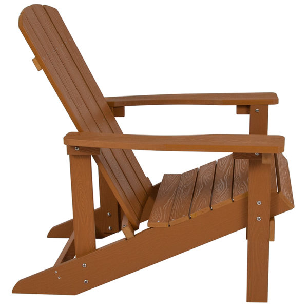 Adirondack Lounger Teak Wood Adirondack Chair