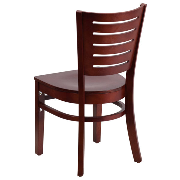 Wood Dining Chair Mahogany Wood Dining Chair
