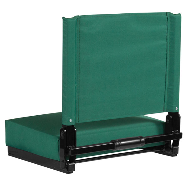 Adult Sized Chair Hunter Green Stadium Chair