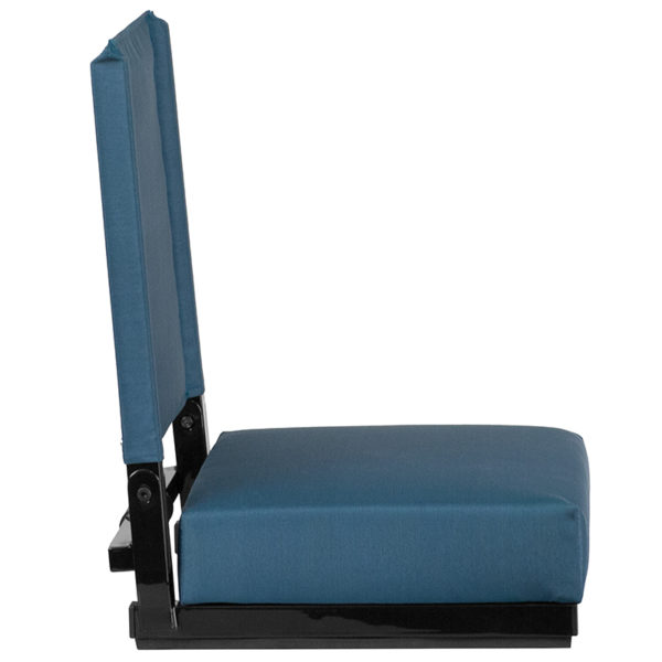 Adult Sized Chair Teal Stadium Chair