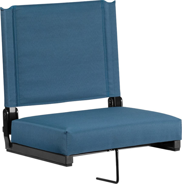 Wholesale Grandstand Comfort Seats by Flash with Ultra-Padded Seat in Teal