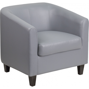 Wholesale Gray Leather Lounge Chair