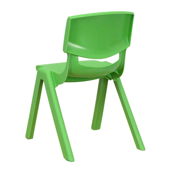 Stacking Student Chair Green Plastic Stack Chair