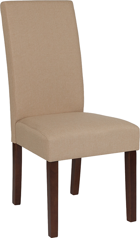 Wholesale Greenwich Series Beige Fabric Parsons Chair
