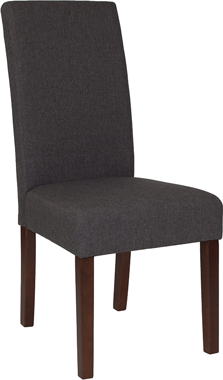 Wholesale Greenwich Series Gray Fabric Parsons Chair