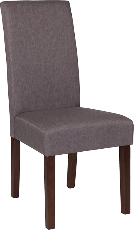 Wholesale Greenwich Series Light Gray Fabric Parsons Chair