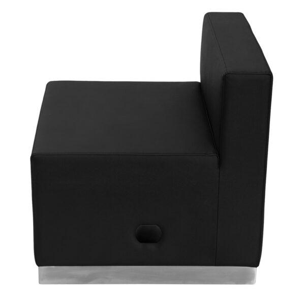 Modular Chair Black Leather Chair