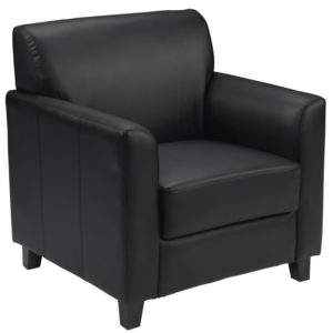 Wholesale HERCULES Diplomat Series Black Leather Chair