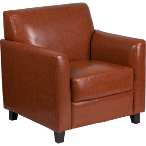 Wholesale HERCULES Diplomat Series Cognac Leather Chair