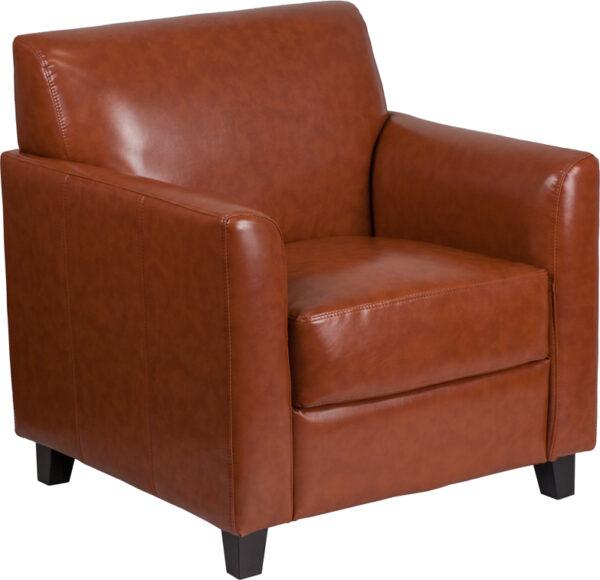 Wholesale HERCULES Diplomat Series Cognac Leather Chair