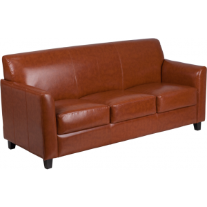Wholesale HERCULES Diplomat Series Cognac Leather Sofa