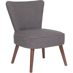 Wholesale HERCULES Holloway Series Gray Fabric Retro Chair