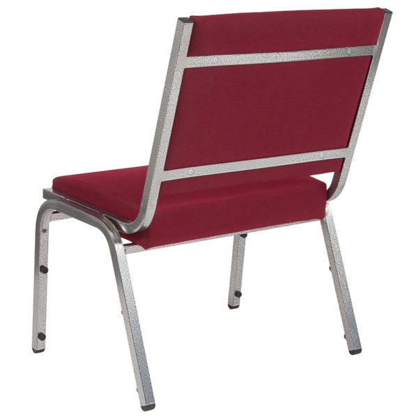 Multipurpose Stack Chair Burgundy Bariatric Chair