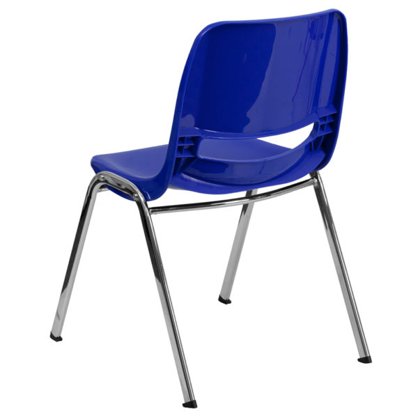 Multipurpose Stack Chair Navy Plastic Stack Chair