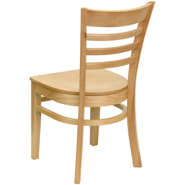 Wood Dining Chair Natural Wood Dining Chair