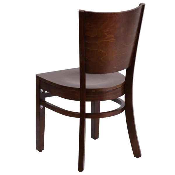 Wood Dining Chair Walnut Wood Dining Chair
