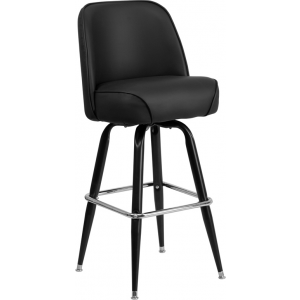 Wholesale Metal Barstool with Swivel Bucket Seat
