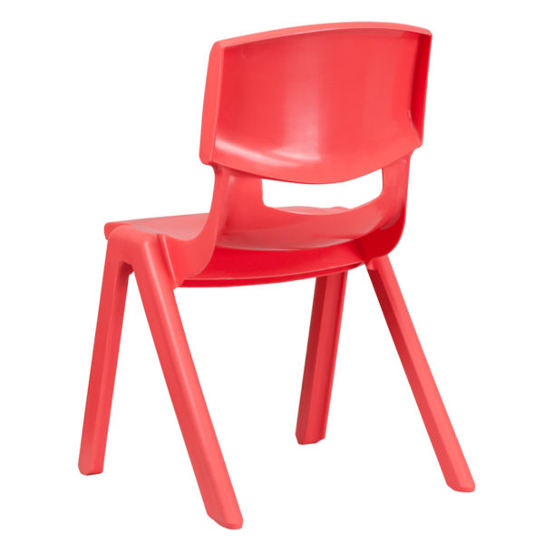 Stacking Student Chair Red Plastic Stack Chair