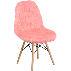 Wholesale Shaggy Dog Hermosa Pink Accent Chair