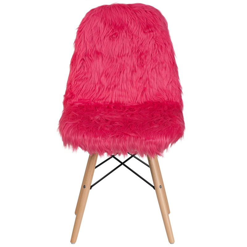 Gy Dog Hot Pink Accent Chair