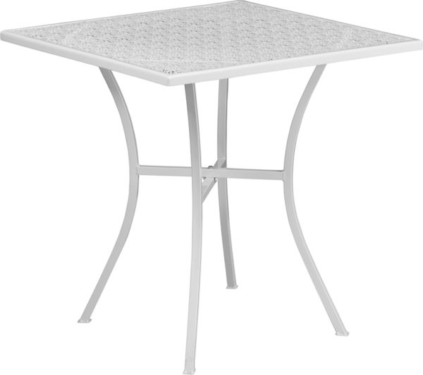 Wholesale Square Patio Table |Outdoor Steel Square Patio Table