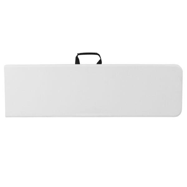 Ready To Use Bench 10.25x71 White Folding Bench