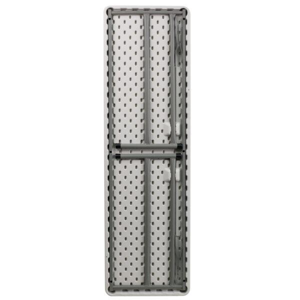 Lowest Price 18''W x 60''L Granite White Plastic Folding Training Table