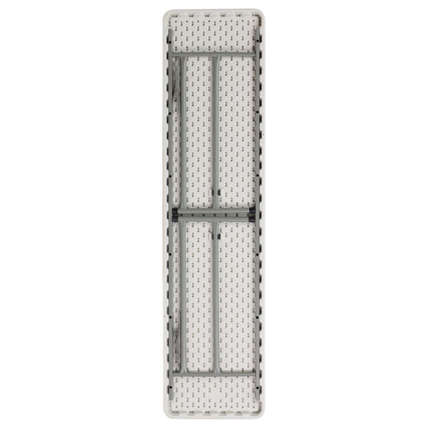 Lowest Price 18''W x 72''L Granite White Plastic Folding Training Table