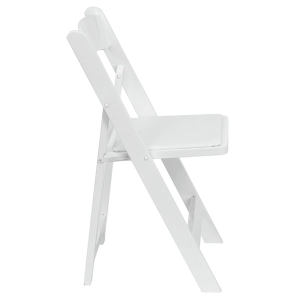 Set of 2 Wood Folding Chairs White Wood Folding Chair