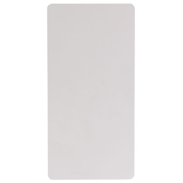 Ready To Use Commercial Table 24x48 White Plastic Fold Table