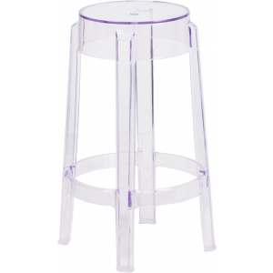 Wholesale 25.75'' High Transparent Counter Height Stool