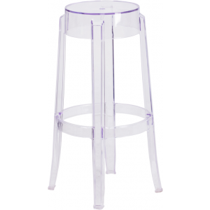 Wholesale 29.75'' High Transparent Barstool