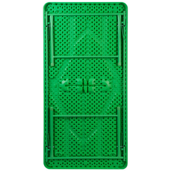 Lowest Price 30''W x 60''L x 19''H Kid's Green Plastic Folding Table