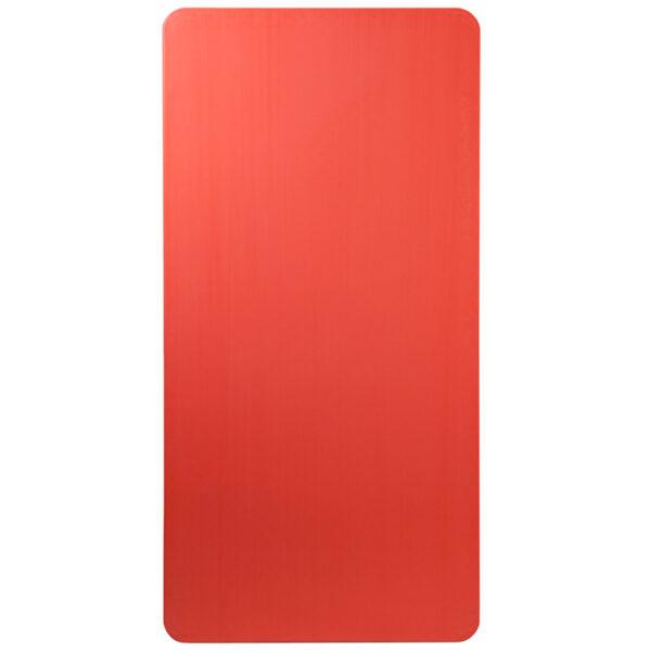 Multipurpose Kids Folding Table Kids 30x60 Red Folding Table