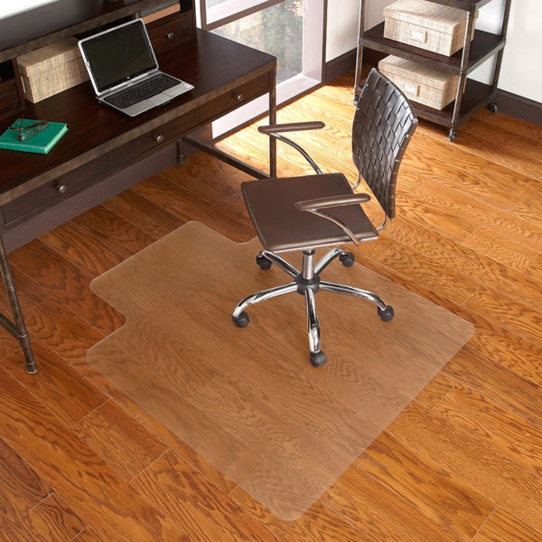 Lowest Price 36'' x 48'' Hard Floor Chair Mat with Lip
