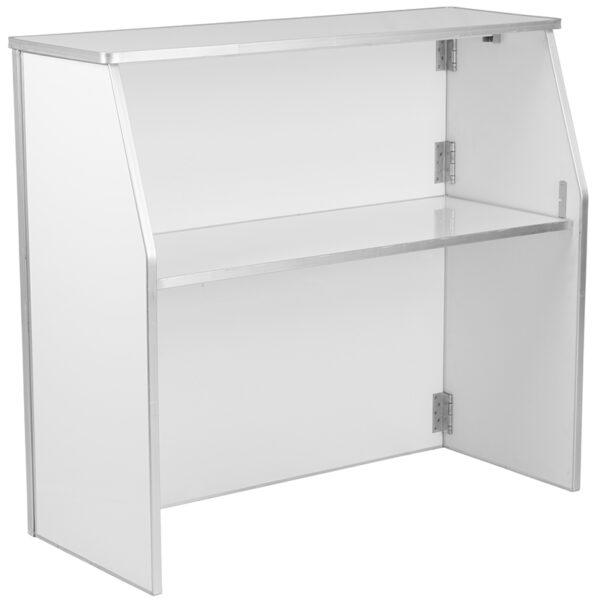 Wholesale 4' White Laminate Foldable Bar